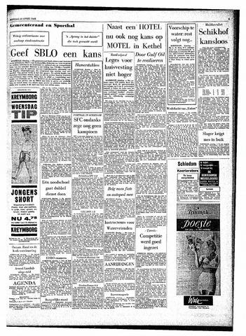 Rotterdamsch Parool / De Schiedammer 1963-04-23