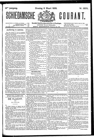 Schiedamsche Courant 1898-03-08