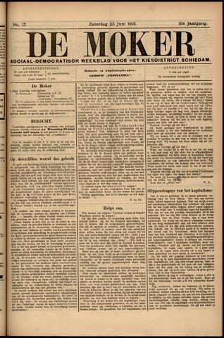 De Moker 1910-06-25