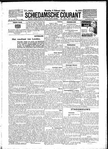 Schiedamsche Courant 1935-02-04