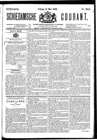 Schiedamsche Courant 1898-05-13
