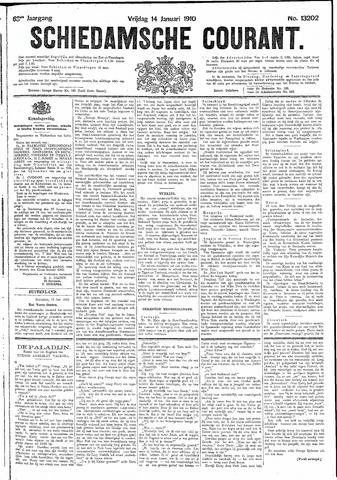 Schiedamsche Courant 1910-01-14