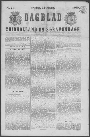Dagblad van Zuid-Holland 1860-03-23