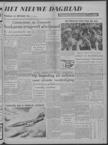 Nieuwe Schiedamsche Courant 1961-09-20