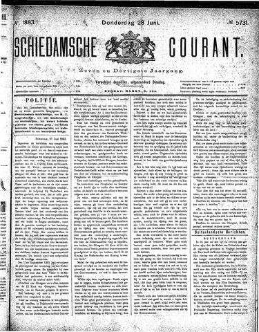 Schiedamsche Courant 1883-06-28