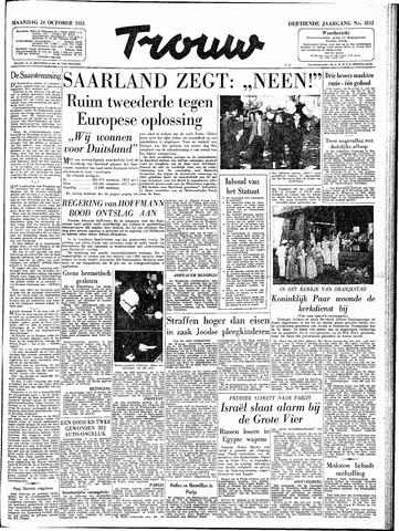 Trouw / De Rotterdammer 1955-10-24