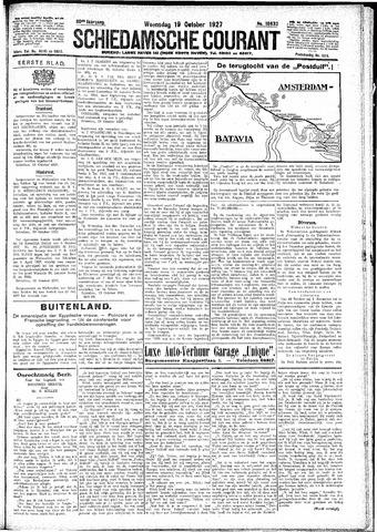 Schiedamsche Courant 1927-10-19