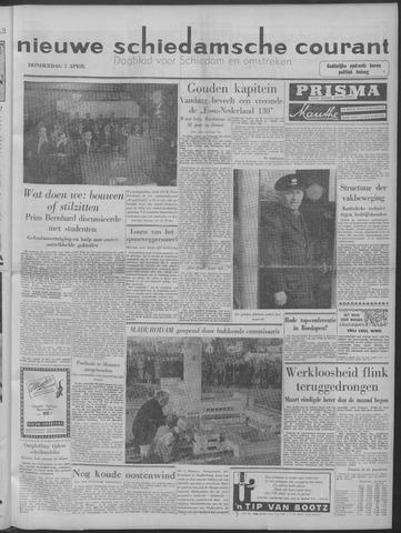 Nieuwe Schiedamsche Courant 1958-04-03