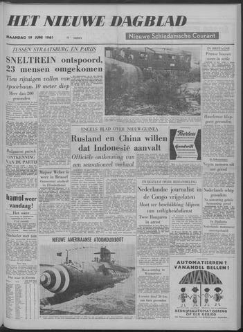 Nieuwe Schiedamsche Courant 1961-06-19