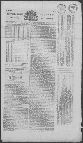 Rotterdamse Courant 1836-01-07