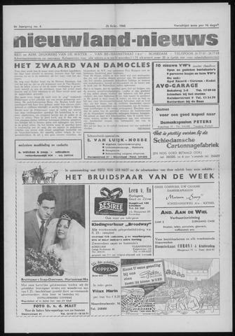 Nieuwland Nieuws 1965-02-25