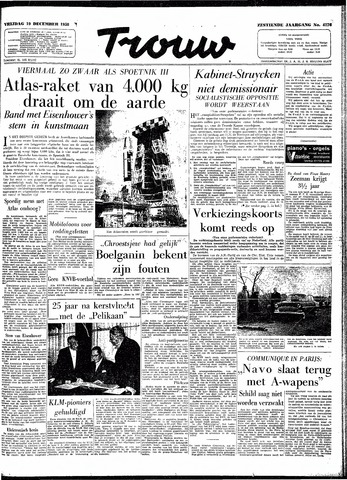 Trouw / De Rotterdammer 1958-12-19