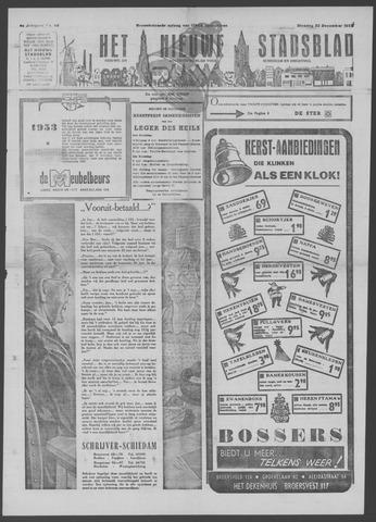 Het Nieuwe Stadsblad 1952-12-23