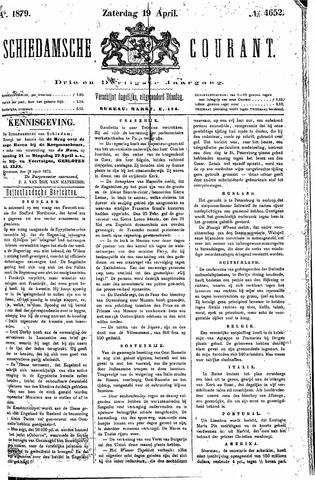 Schiedamsche Courant 1879-04-19