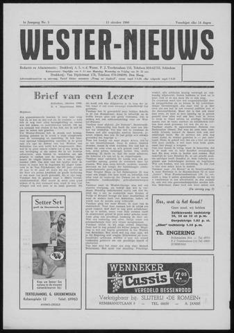 Wester Nieuws 1960-10-13