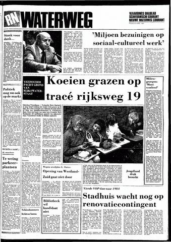 Rotterdamsch Nieuwsblad / Schiedamsche Courant / Rotterdams Dagblad / Waterweg / Algemeen Dagblad 1983-04-08