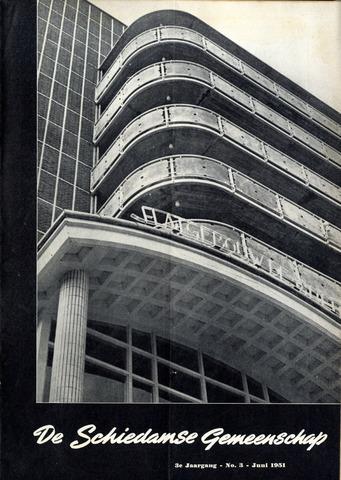 Schiedamse Gemeenschap (tijdschrift) 1951-06-01
