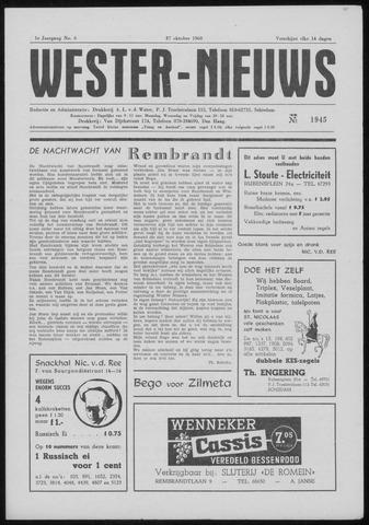 Wester Nieuws 1960-10-27