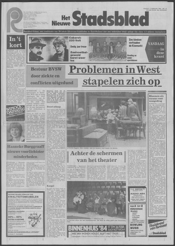 Het Nieuwe Stadsblad 1984-02-17