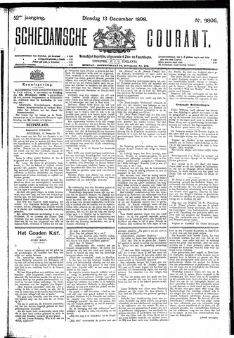 Schiedamsche Courant 1898-12-13