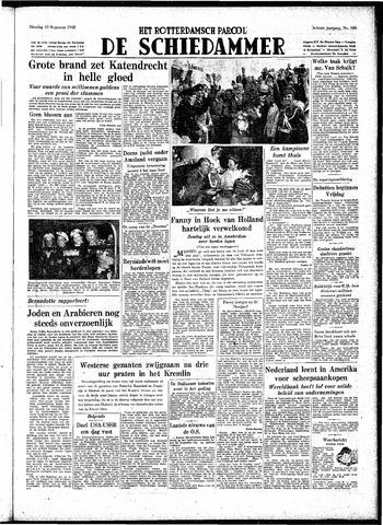 Rotterdamsch Parool / De Schiedammer 1948-08-10