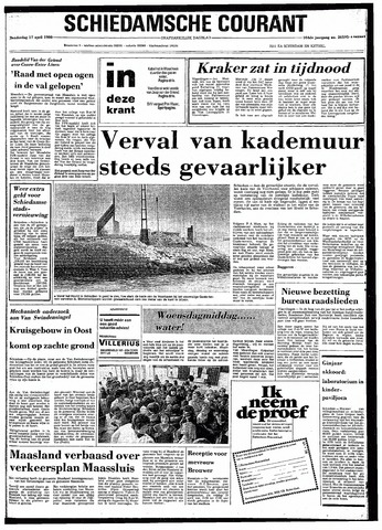 Rotterdamsch Nieuwsblad / Schiedamsche Courant / Rotterdams Dagblad / Waterweg / Algemeen Dagblad 1980-04-17