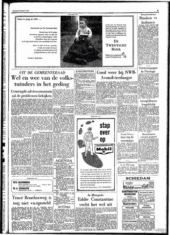 Rotterdamsch Parool / De Schiedammer 1961-06-24