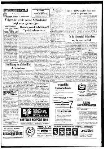 Rotterdamsch Nieuwsblad / Schiedamsche Courant / Rotterdams Dagblad / Waterweg / Algemeen Dagblad 1966-05-07