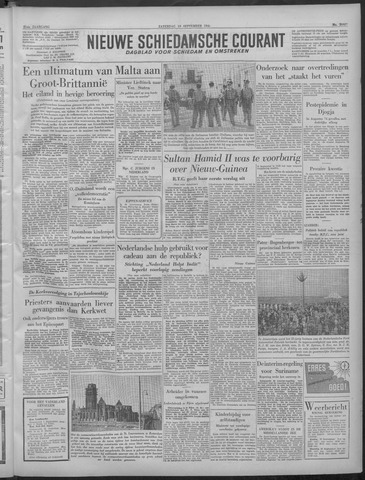 Nieuwe Schiedamsche Courant 1949-09-10
