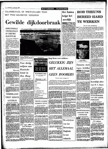 Rotterdamsch Parool / De Schiedammer 1966-09-01