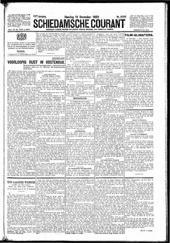 Schiedamsche Courant 1929-12-10