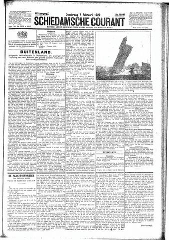 Schiedamsche Courant 1929-02-07