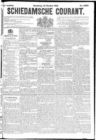 Schiedamsche Courant 1908-10-22