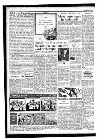 Rotterdamsch Parool / De Schiedammer 1957-01-08