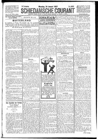 Schiedamsche Courant 1927-01-24