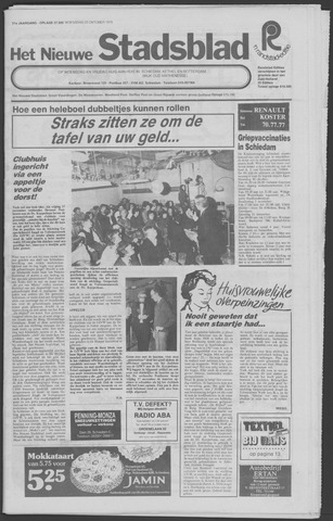 Het Nieuwe Stadsblad 1978-10-25
