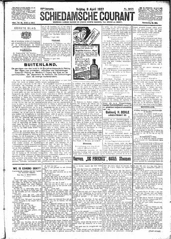 Schiedamsche Courant 1927-04-08