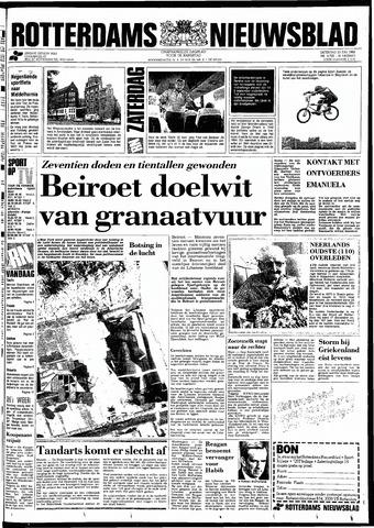 Rotterdamsch Nieuwsblad / Schiedamsche Courant / Rotterdams Dagblad / Waterweg / Algemeen Dagblad 1983-07-23