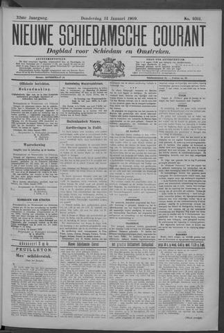 Nieuwe Schiedamsche Courant 1909-01-14