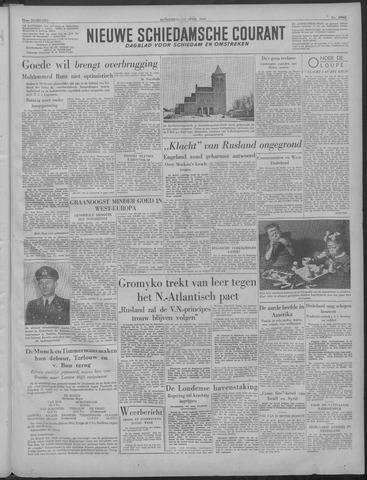 Nieuwe Schiedamsche Courant 1949-04-14