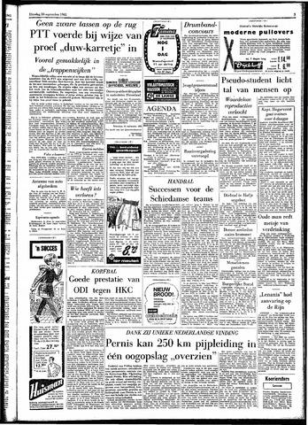 Rotterdamsch Parool / De Schiedammer 1961-09-26