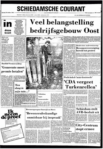 Rotterdamsch Nieuwsblad / Schiedamsche Courant / Rotterdams Dagblad / Waterweg / Algemeen Dagblad 1980-10-28