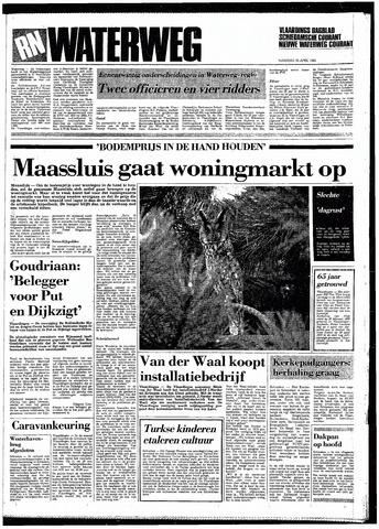 Rotterdamsch Nieuwsblad / Schiedamsche Courant / Rotterdams Dagblad / Waterweg / Algemeen Dagblad 1985-04-29