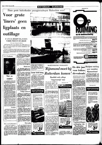 Rotterdamsch Parool / De Schiedammer 1966-01-14