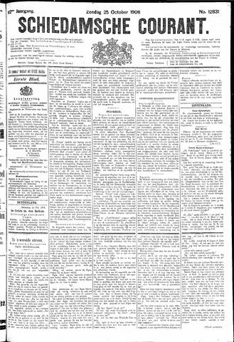 Schiedamsche Courant 1908-10-25