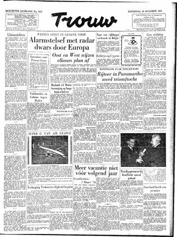 Trouw / De Rotterdammer 1955-10-29