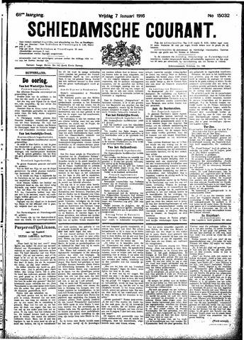 Schiedamsche Courant 1916-01-07