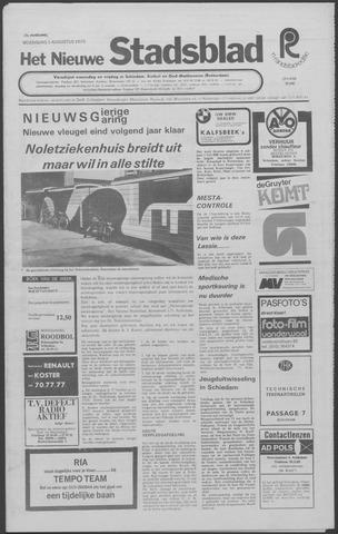 Het Nieuwe Stadsblad 1973-08-01