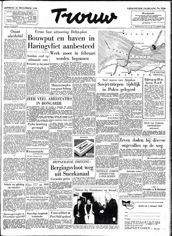 Trouw / De Rotterdammer 1956-12-18