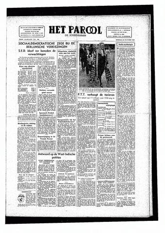 Rotterdamsch Parool / De Schiedammer 1946-10-22